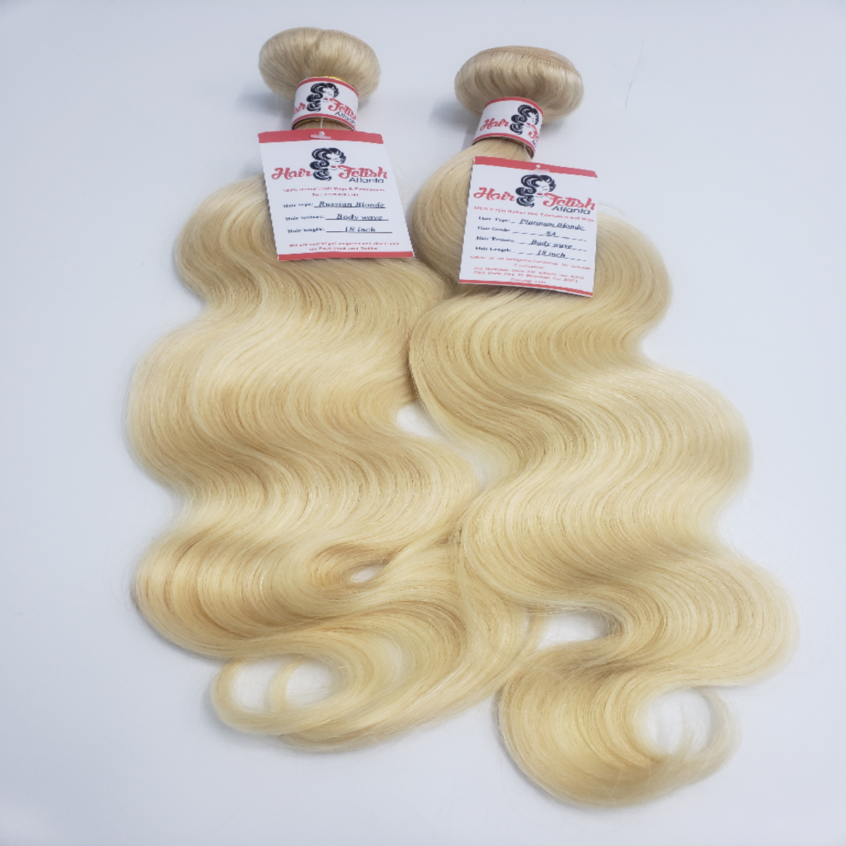 Russian Blonde Hair Extension 12 inch to 50 inch