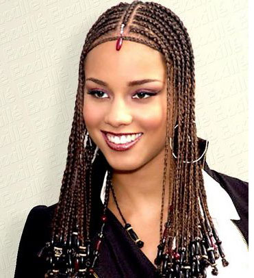 Tribal Braids Alicia Keys